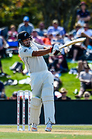 Colin De Grandhomme of the Black Caps during Day 2 of the Second International Cricket Test match, New Zealand V England, Hagley Oval, Christchurch, New Zealand, 31th March 2018.Copyright photo: John Davidson / www.photosport.nz