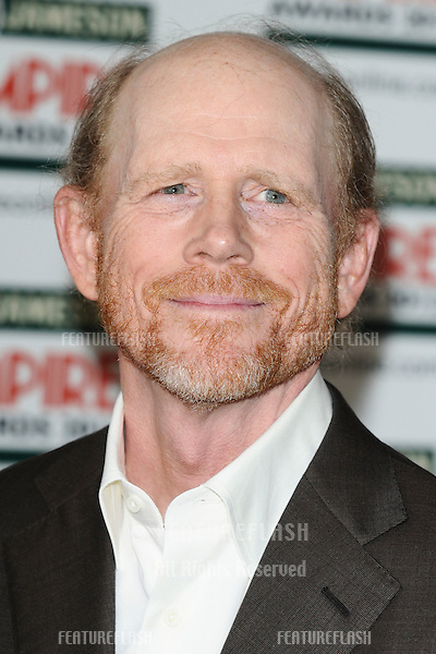 Ron Howard arriving for the Empire Film Awards 2012 at the Grosvenor House Hotel, London. 25/03/2012 Picture by: Steve Vas / Featureflash