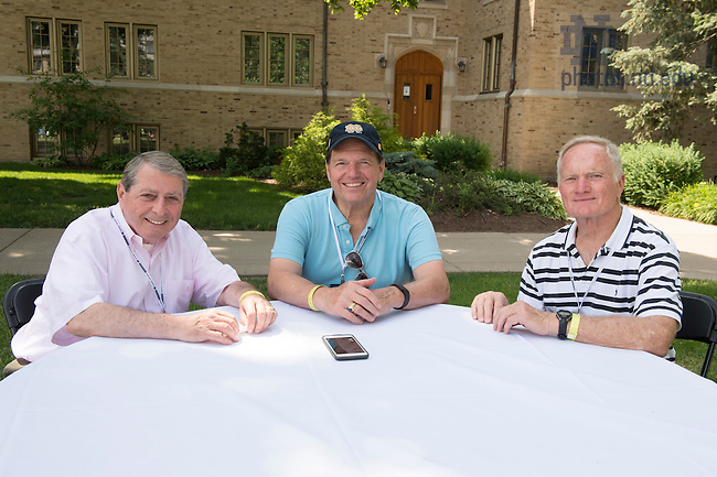 June 3, 2016; 2016 Reunion Weekend. (Photo by Barbara Johnston/University of Notre Dame)