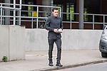 07.09.2017, Trainingsgelaende, Bremen, GER, 1.FBL, Training SV Werder Bremen<br /> <br /> im Bild<br /> Zlatko Junuzovic (Werder Bremen #16) verl&auml;sst die Kabine nach Reha-Einheit mit Verbandzeug, <br /> <br /> Foto &copy; nordphoto / Ewert