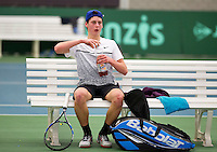 March 13, 2015, Netherlands, Rotterdam, TC Victoria, NOJK, Sam Jesse (NED)<br /> Photo: Tennisimages/Henk Koster