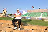 Shane Lowry (IRL) on the practice round ahead of the DP World Tour Championship, Earth Course, Jumeirah Golf Estates, Dubai, UAE.  18/11/2015.<br /> Picture: Golffile | Fran Caffrey<br /> <br /> <br /> All photo usage must carry mandatory copyright credit (© Golffile | Fran Caffrey)