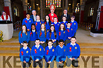 Mr Costello Sixth class students from CBS primary were confirmed by Bishop Ray Browne  at St. John's Church Tralee on Thursday