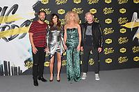 06 June 2018 - Nashville, Tennessee - Jimi Westbrook, Karen Fairchild, Philip Sweet, Kimberly Schlapman, Little Big Town. 2018 CMT Music Awards held at Bridgestone Arena.  <br /> CAP/ADM/LF<br /> &copy;LF/ADM/Capital Pictures