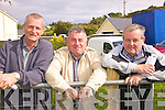 Watching the horses at the parade ring were l-r; Leo McCarthy, Mike McCarthy & Tony McCarthy.