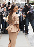 NEW YORK, NY February  22, 2017:Eva Longoria at the View  in New York . February 22, 2017. Credit:RW/MediaPunch
