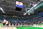 Japan team group (JPN), <br /> SEPTEMBER 8, 2016 - Wheelchair Basketball : <br /> Preliminary Round Group A<br /> match between Turkey 65-49 Japan<br /> at Carioca Arena 1<br /> during the Rio 2016 Paralympic Games in Rio de Janeiro, Brazil.<br /> (Photo by AFLO SPORT)