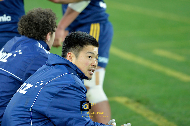 Fumiaki Tanaka, Super Rugby Final - Hurricanes v Highlanders at Westpac Stadium, Wellington, New Zealand on Saturday 4 July 2015.<br /> Photo by Masanori Udagawa. <br /> www.photowellington.photoshelter.com.