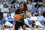 05 January 2014: Maryland's Shatori Walker-Kimbrough. The University of North Carolina Tar Heels played the University of Maryland Terrapins in an NCAA Division I women's basketball game at Carmichael Arena in Chapel Hill, North Carolina. Maryland won the game 79-70.