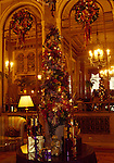 Sir Francis Drake Hotel at Christmas