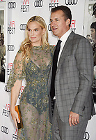 HOLLYWOOD, CA - NOVEMBER 09: Actor/model Molly Sims (L) and producer Scott Stuber  attend the screening of Netflix's 'Mudbound' at the Opening Night Gala of AFI FEST 2017 presented by Audi at TCL Chinese Theatre on November 9, 2017 in Hollywood, California.<br /> CAP/ROT<br /> &copy;ROT/Capital Pictures