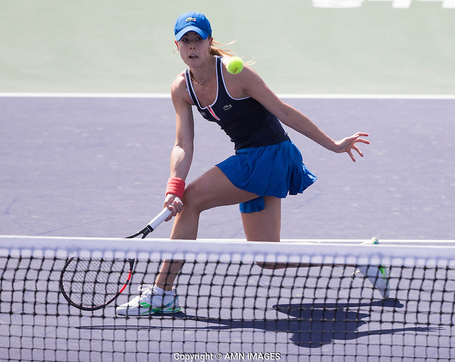 ALIZE CORNET (FRA)<br /> <br /> Tennis - BNP PARIBAS OPEN 2015 - Indian Wells - ATP 1000 - WTA Premier -  Indian Wells Tennis Garden  - United States of America - 2015<br /> &copy; AMN IMAGES