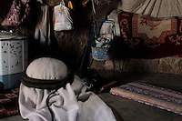 "A baby from the Jabareen family is seen in a cave in Jenba a Palestinian town of 50 families seats in an area called by the IDF as ""Firing Zone 918"" and is located in the southern Hebron hills near the town of Yatta.  Spread over 30,000 dunams, it includes twelve Palestinian villages.  According to OCHA figures, 1,622 people lived in the area in 2010, and according to local residents the number of inhabitants currently stands at about 1,800. For over a decade, the residents of twelve uniquely traditional Palestinian villages in the area of Masafer-Yatta in the south Hebron hills have lived under the constant threat of demolition, evacuation, and dispossession.The State's insistence on evacuation of Firing Zone 918 in part or in whole, if acceptance by the HCJ, might result in an immediate humanitarian disaster for almost two thousand souls, the destruction of villages, and the eradication of a remarkable way of life that has endured for centuries."