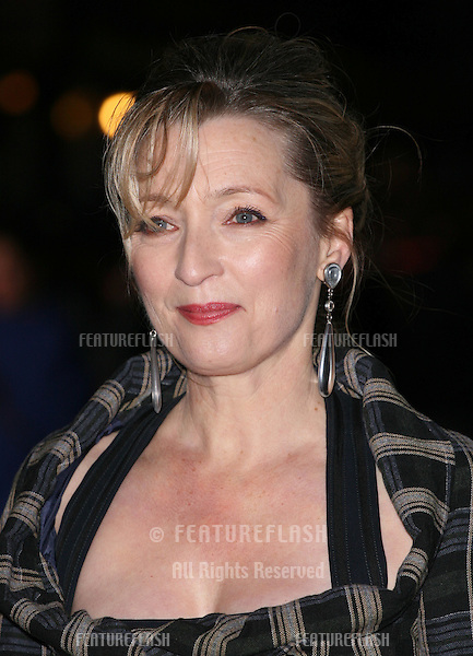 Lesley Manville attends the 'Another Year' premiere during the 54th BFI London Film Festival at the Odeon Leicester Square, London. 18/10/2010  Picture by: Alexandra Glen / Featureflash
