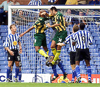 Sheffield Wednesday v West Bromwich Albion 2001