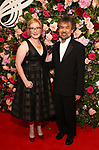 Heather Hitchens and David Henry Hwang attends The American Theatre Wing's 2019 Gala at Cipriani 42nd Street on September 16, 2019 in New York City.