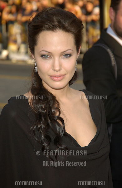 Actress ANGELINA JOLIE at the world premiere of her new movie Lara Croft Tomb Raider: The Cradle of Life, at Grauman's Chinese Theatre, Hollywood..July 21, 2003