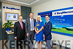 Sean Kelly, Minister Mary Mitchell O'Connor,  Martin Shanahan IDA and General Manager of BorgWarner Tralee at the Borg Warner jobs announcement on Friday