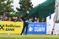 Haydn Porteous (RSA) on the 1st tee during Round 4 of the D+D Real Czech Masters at the Albatross Golf Resort, Prague, Czech Rep. 03/09/2017<br /> Picture: Golffile   Thos Caffrey<br /> <br /> <br /> All photo usage must carry mandatory copyright credit     (&copy; Golffile   Thos Caffrey)