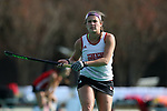 DURHAM, NC - NOVEMBER 11: Miami's Brie Stahl. The Duke University Blue Devils hosted the Miami University (Ohio) Redhawks on November 11, 2017 at Jack Katz Stadium in Durham, NC in an NCAA Division I Field Hockey Tournament First Round game. Duke won the game 4-2.