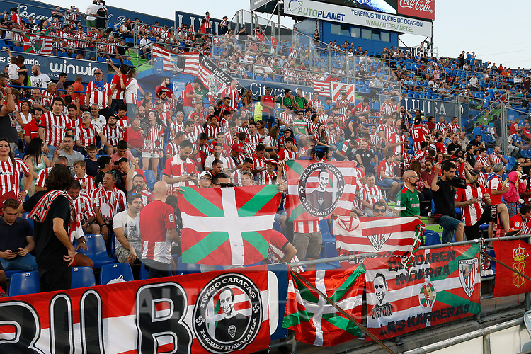 Athletic's supporters during La Liga match. Aug 24, 2019. (ALTERPHOTOS/Manu R.B.)