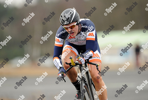 2013-04-09 / Wielrennen / seizoen 2013 / PK Tijdrijden Antwerpen / Lotar Bruyns..Foto: Mpics.be