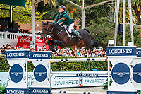 IRL-Darragh Kenny rides Balou Du Reventon during the Longines FEI Nations Cup Jumping - Final Competition. CSIO Barcelona. Reial Club de Polo de Barcelona. Spain. Sunday 6 October. Copyright Photo: Libby Law Photography