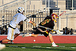 San Diego, CA 05/29/10 - Lucas Gradinger (Torrey Pines # 6) and Reid Tudor (LCC# 24) in action during the La Costa Canyon vs Torrey Pines boys lacrosse game for the 2010 San Diego Section CIF Championship, hosted at Del Norte High School.  La Costa Canyon defeated Torrey Pines 12-6.