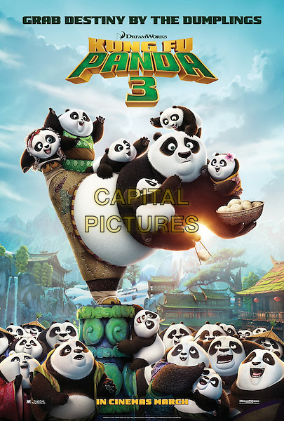 Kung Fu Panda 3 (2016)<br /> POSTER ART<br /> *Filmstill - Editorial Use Only*<br /> CAP/KFS<br /> Image supplied by Capital Pictures