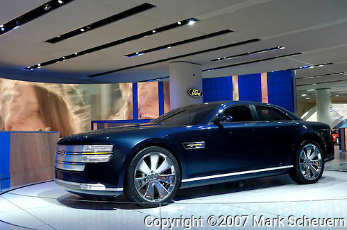 The Ford Interceptor concept car at the North American International Auto Show, 2007