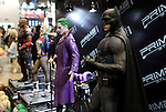 February 19, 2017, Chiba, Japan - Japan's toy maker Prime1Studio displays Batman figure at the Wonder Festival 2017 Winter in Chiba, suburban Tokyo on Sunday, February 19, 2017. Tens of thousands people visited one-day garage kits and plastic -models trade show hosted by Osaka based toy maker Kaiyodo.    (Photo by Yoshio Tsunoda/AFLO) LwX -ytd-