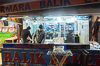 Turkey, Istanbul, Fish Market, Kumkapi