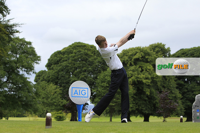James O'Connor (Athenry) at the 1st tee during the AIG Jimmy Bruen Shield Semi-Finals of the AIG Connacht Cups &amp; Shields Finals 2016 at Ballinrobe Golf Club, Ballinrobe Co. Mayo on Friday 5th August 2016.<br /> Picture:  Golffile | Thos Caffrey<br /> <br /> All photos usage must carry mandatory copyright credit   (&copy; Golffile | Thos Caffrey)