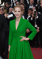 Jessica Chastain at the premiere for &quot;The Meyerowitz Stories&quot; at the 70th Festival de Cannes, Cannes, France. 21 May  2017<br /> Picture: Paul Smith/Featureflash/SilverHub 0208 004 5359 sales@silverhubmedia.com