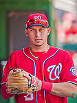 7 September 2014: Washington Nationals second baseman Asdrubal Cabrera walks the dugout prior to a game against the Philadelphia Phillies at Nationals Park in Washington, DC. The Nationals defeated the Phillies 3-2 to salvage the final game of their 3-game series. Mandatory Credit: Ed Wolfstein Photo *** RAW (NEF) Image File Available ***