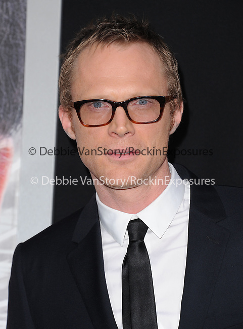 """Paul Bettany attends The L.A. Premiere of Alcon Entertainment's """"TRANSCENDENCE"""" held at The Regency Village Theater in Westwood, California on April 10,2014                                                                               © 2014Hollywood Press Agency"""