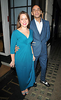 Minnie Ayres and Fraser Ayres at the TriForce Short Film Festival gala ceremony 2018, BAFTA, Piccadilly, London, England, UK, on Saturday 01 December 2018.<br /> CAP/CAN<br /> &copy;CAN/Capital Pictures