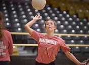 Bentonville volleyball practice 8/8/16