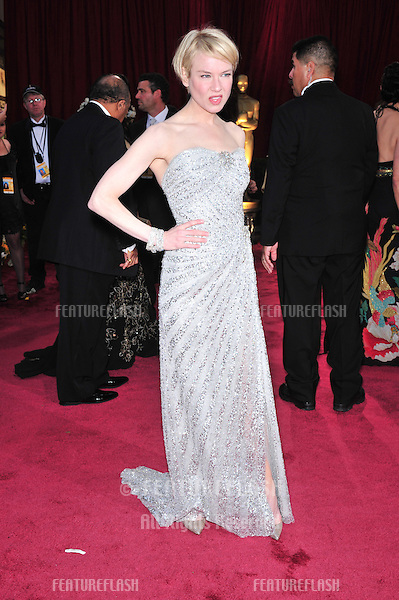 Rene Zellweger at the 80th Annual Academy Awards at the Kodak Theatre, Hollywood, CA..February 24, 2008 Los Angeles, CA.Picture: Paul Smith / Featureflash