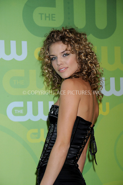 WWW.ACEPIXS.COM . . . . .....May 13, 2008. New York City.....Actress AnnaLynne McCord attends the CW Network Upfronts at Lincoln Center...  ....Please byline: Kristin Callahan - ACEPIXS.COM..... *** ***..Ace Pictures, Inc:  ..Philip Vaughan (646) 769 0430..e-mail: info@acepixs.com..web: http://www.acepixs.com