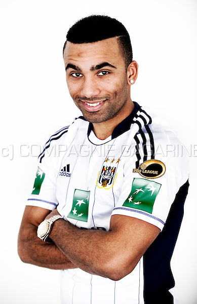 Cuban-Swedish football player Samuel Armenteros (Belgium, 25/01/2013)