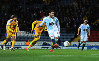 Blackburn Rovers' Danny Graham scores the opening goal<br /> <br /> Photographer Kevin Barnes/CameraSport<br /> <br /> The EFL Sky Bet Championship - Blackburn Rovers v Wigan Athletic - Tuesday 12th March 2019 - Ewood Park - Blackburn<br /> <br /> World Copyright © 2019 CameraSport. All rights reserved. 43 Linden Ave. Countesthorpe. Leicester. England. LE8 5PG - Tel: +44 (0) 116 277 4147 - admin@camerasport.com - www.camerasport.com