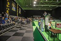 Rotterdam, Netherlands, 11 februari, 2017, ABNAMROWTT, Qualifyer, first round, Good crowd  with Youzhny
