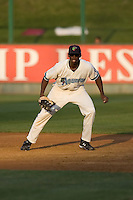 August 4, 2009: Everett AquaSox first baseman James Jones during a Northwest League game against the Boise Hawks at Everett Memorial Stadium in Everett, Washington.