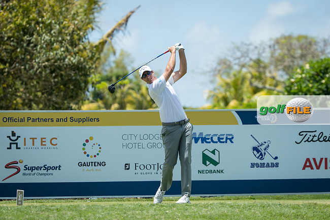 Nicolas Colsaerts (BEL) during the 1st round of the AfrAsia Bank Mauritius Open, Four Seasons Golf Club Mauritius at Anahita, Beau Champ, Mauritius. 29/11/2018<br /> Picture: Golffile | Mark Sampson<br /> <br /> <br /> All photo usage must carry mandatory copyright credit (© Golffile | Mark Sampson)