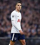 Erik Lamela of Tottenham Hotspur during the premier league match at the Wembley Stadium, London. Picture date 14th April 2018. Picture credit should read: Robin Parker/Sportimage
