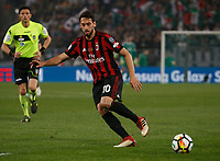Hakan Calhanoglu   during the  Coppa Italia ( Tim Cup) final soccer match,  Ac Milan  - Juventus Fc       at  the Stadio Olimpico in Rome  Italy , 09 May 2018