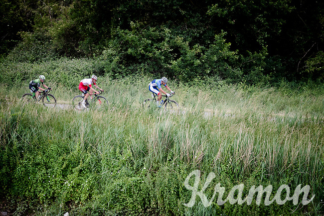 Damien Gaudin (FRA/Total - Direct Energie)<br /> <br /> Dwars door het Hageland 2019 (1.1)<br /> 1 day race from Aarschot to Diest (BEL/204km)<br /> <br /> ©kramon
