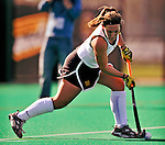 24 October 2008: University of Vermont Catamounts' midfielder/defenseman Wendy Carbone, a Senior from Derry, NH, in action against the Hofstra University Pride at Moulton Winder Field, in Burlington, Vermont. The Catamounts shut out the visiting Pride 3-0...Mandatory Photo Credit: Ed Wolfstein Photo
