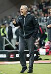 13.01.2018, Commerzbank - Arena, Frankfurt, GER, 1.FBL, Eintracht Frankfurt vs SC Freiburg<br /> , im Bild<br />Trainer Christian Streich (Freiburg)<br /> Foto &copy; nordphoto /  Bratic